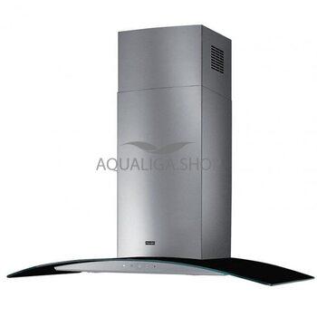 Вытяжка FGC 925 BK/XS LED нерж./черное стекло 900мм. Franke 110.0389.116