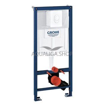Система инсталляции Grohe Rapid SL для подвесного унитаза 4 в 1 38722001+37131000