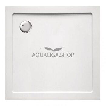 Душевой поддон квадратный Eger 90х90х3.5 белый 599-9090S