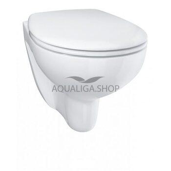 Унитаз подвесной безободка Grohe Bau Ceramic Soft Close 39351000