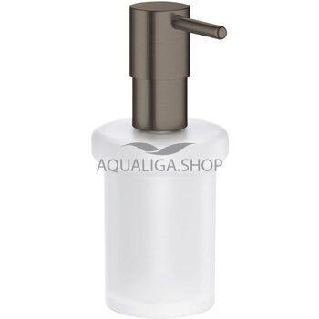 Дозатор для жидкого мыла Grohe Essentials матовый графит 40394AL1