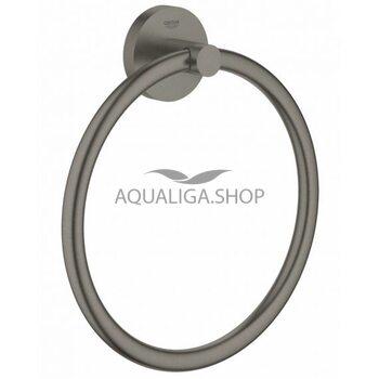 Полотенцедержатель кольцо Grohe Essentials матовый графит 40365AL1