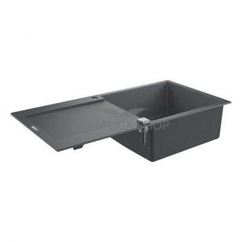 Мойка для кухни 1000х500  Grohe K500 серый 31645AT0