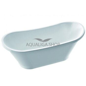 Ванна отдельностоящая Fancy Marble Newton 1607х650 мм 90160001