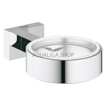 Держатель для мыльницы/ стакана Grohe Essentials Cube 40508001