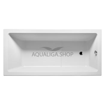 Ванна акриловая Riho Lusso Plus ВA12 170х80см BA1200500000000