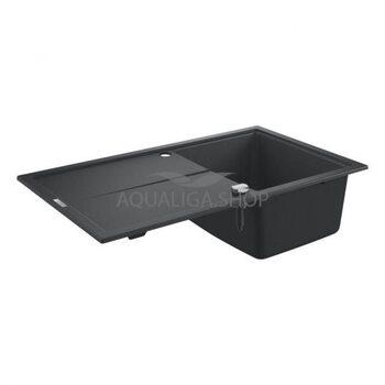 Мойка для кухни 860х500 Grohe K400 черный 31640AP0