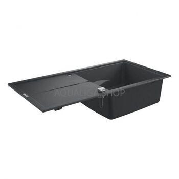 Мойка для кухни 1000х500 Grohe K400 черный 31641AP0