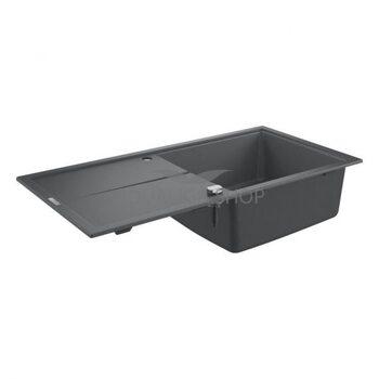 Мойка для кухни 1000х500  Grohe K400 серый 31641AT0