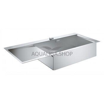Кухонная мойка с нержавеющей стали 1160х520 Grohe K1000 31582SD0