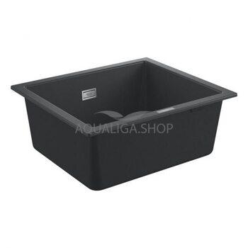 Мойка для кухни прямоугольная 533х457 Grohe K700U черный 31654AP0