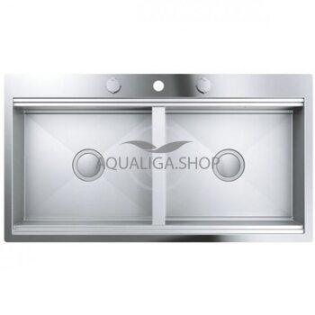 Кухонная мойка с нержавеющей стали 1024х560 Grohe K800 31585SD0