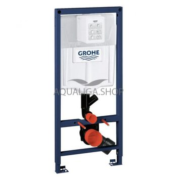 Система инсталляции для подвесного унитаза, с функцией устранения запахов Grohe Rapid SL 39002000