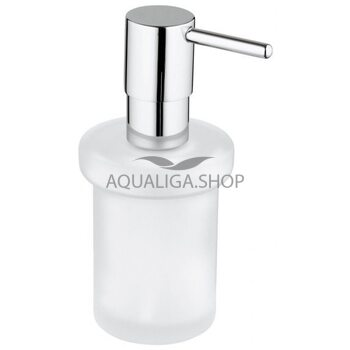 Дозатор жидкого мыла с держателем GROHE Essentials Cube 40756001