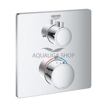 Термостат для душа и ванной встраиваемый Grohe Grohtherm 24080000