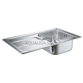 Кухонная мойка с нержавеющей стали 860х500 Grohe K400 31566SD0