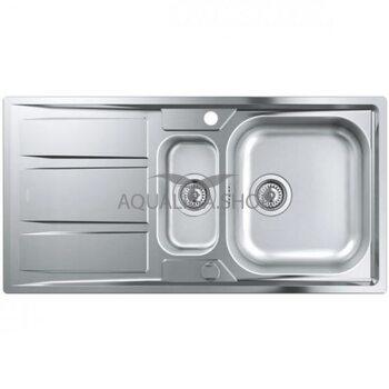 Кухонная мойка с нержавеющей стали 970х500 Grohe K400 31567SD0