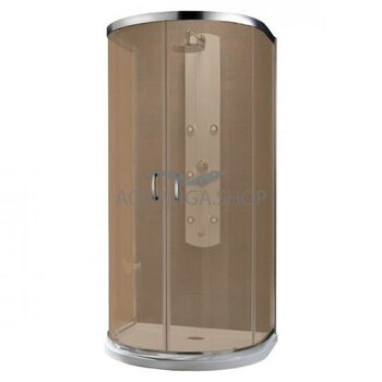 Душевая кабина Radaway Premium Plus P 100х90 коричневое 33300-01-08N