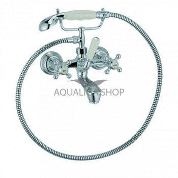 Cмеситель для ванны с душем Kludi Adlon хром 514410520