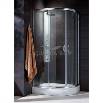 Душевая кабина Radaway Premium Plus E 1900 90х80 графит 30492-01-05N