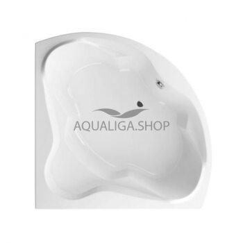 Ванна RADAWAY Keria 150х150 + ножки WA1-37-150x150U+ сифон R135L