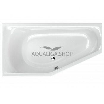 Ванна RADAWAY Noelia 165x90 L + ножки, левая WA1-49-165x090L+ сифон R135L