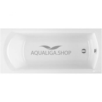 Ванна RADAWAY KEA 160x75 + ножки WA1-04-160x075U+ сифон R135L