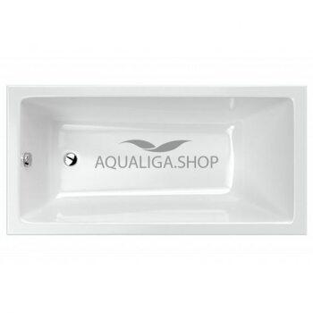 Ванна RADAWAY Mirella 160x80 + ножки WA1-48-160x080+ сифон R135L