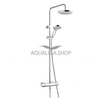 Душевая система с термостатом Kludi Dual Shower System 6609505-00