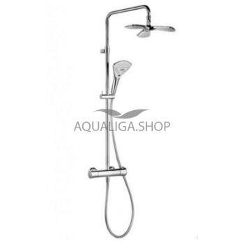 Душевая система с термостатом Kludi Dual Shower System 6709605-00