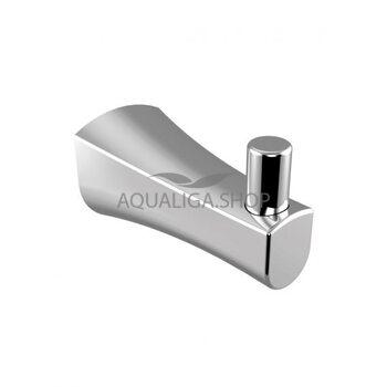Крючок для ванной комнаты IMPRESE CUTHNA 100280 stribro