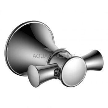 Крючок для ванны двойной Imprese Podzimu Ledove хром ZMK01170121