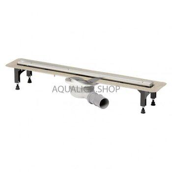 Душевой лоток 120 см Viega Advanix с решеткой Visign ER10 753191