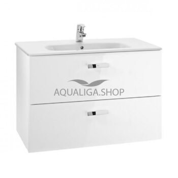 Шкафчик с умывальником Roca Victoria 80 см белый A855852806