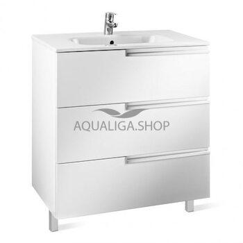 Шкафчик с раковиной Roca Victoria-N, 80 см белый A855837806