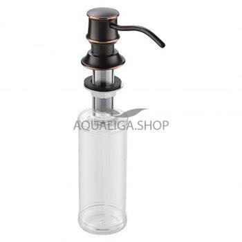 Дозатор жидкого мыла врезной Imprese Podzima Zrala бронза ZMK02170830