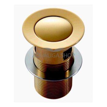 Донный клапан Imprese Pop-up золото PP280zlato