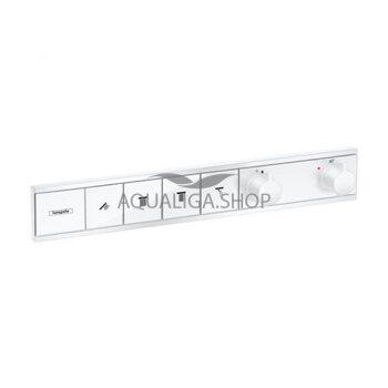 Термостат скрытого монтажа для 4 потр. Hansgrohe RainSelect белый матовый 15382700