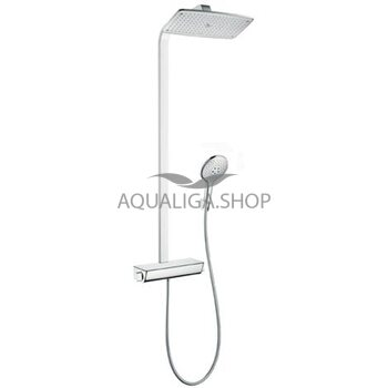 Душевая система с термостатом Hansgrohe Raindance Select Showerpipe 27112000