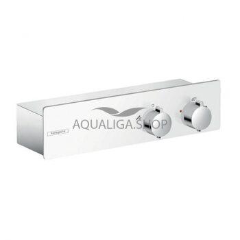 Смеситель для душа с термостатом Hansgrohe ShowerTablet белый/хром 13102400