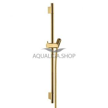 Штанга для душа 650мм Hansgrohe Unica'S Puro золото 28632990