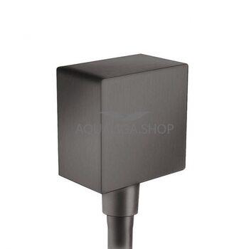 Шланговое подсоединение Hansgrohe FixFit черный 26455340