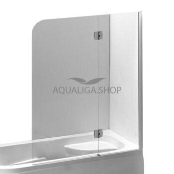 Шторка на ванну 120х150 Eger 599-120CH/R