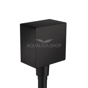 Шланговое подсоединение Hansgrohe FixFit черный матовый 26455670