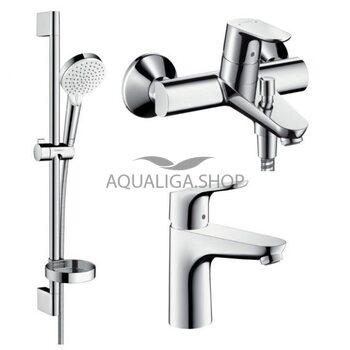 Набор смесителей для ванны Hansgrohe Focus 1092019