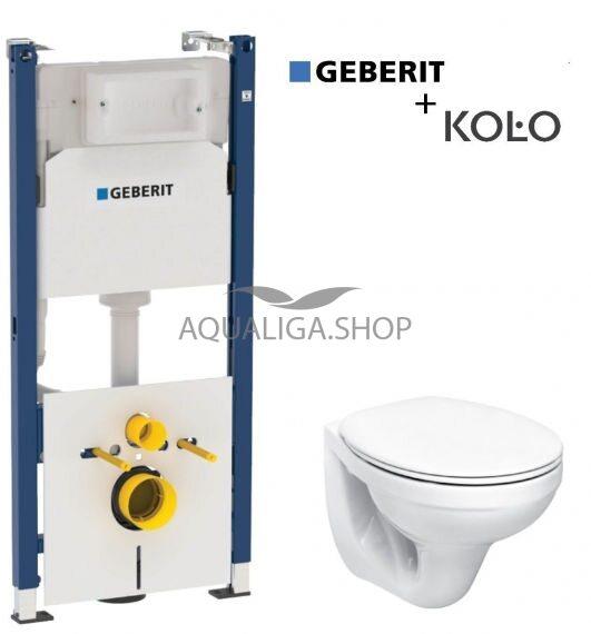 Инсталляция Geberit Duofix 458.126.00.1 + Унитаз Kolo Idol M1310002U