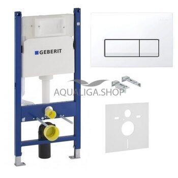 Система инсталляции Geberit Duofix 458.126.00.1 + Delta51 белый 115.105.11.1