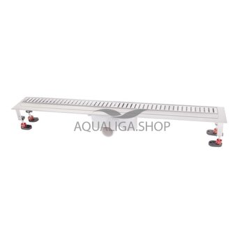 Трап линейный Q-tap с нержавеющей решеткой 800х860 CRM