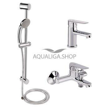 Набор смесителей для ванны Qtap Set CRM 35-211 QTSETCRM35211