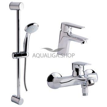 Набор смесителей для ванны Qtap Set CRM 35-311 QTSETCRM35311